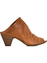 Marsell Marsell Open Toe Mules Brown