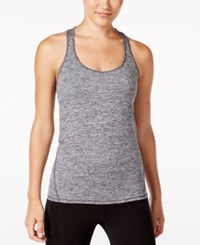 Ideology Essential Racerback Performance Tank Top Only At Macy's Noir
