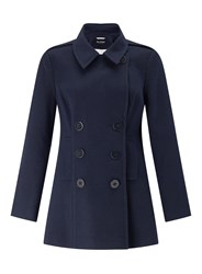 Miss Selfridge Navy Pea Coat
