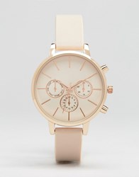 New Look Silicone Watch Pink