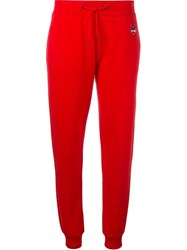 Kenzo 'Mini Tiger' Track Pants Red