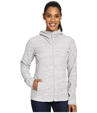 Mountain Hardwear Snowpass Fleece Full Zip Hoodie Heather Steam Women's Sweatshirt Gray