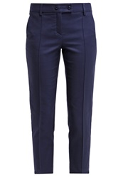Kookai Trousers Marine Dark Blue