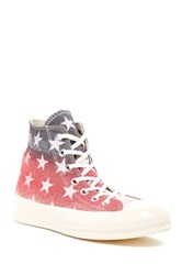 Converse Chuck Taylor High Top Printed Sneaker Unisex Gray