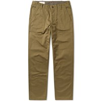 Maison Kitsune Cotton Worker Pant Green