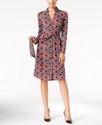 Inc International Concepts Geometric Print Shirtdress Only At Macy's Geo Synthesis