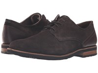 Rockport Ledge Hill 2 Plain Toe Oxford Dark Bitter Chocolate Men's Lace Up Casual Shoes Gray