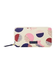 Radley Dapple Dog Multicolour Large Ziparound Purse Multi Coloured Multi Coloured