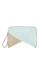 Narciso Rodriguez Boomerang Clutch Ice