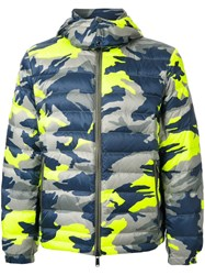 Kent And Curwen Camouflage Puffer Jacket