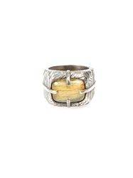 Tobias Wistisen Quartz Ring Metallic