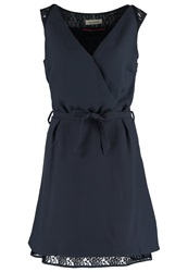 Naf Naf Summer Dress Ink Blue Dark Blue