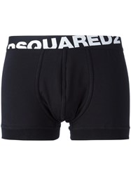 Dsquared2 Angular Logo Boxers Black