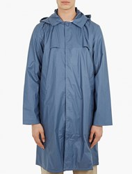 Christopher Raeburn Blue Lightweight Cotton Mac