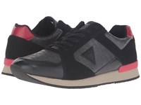 Guess Nasher Black Red Men's Shoes