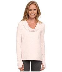 Lucy Surrender Pullover Pink Pearl Heather Women's Long Sleeve Pullover