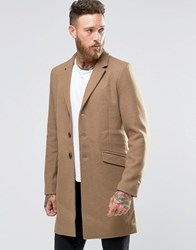 Only And Sons Overcoat Camel