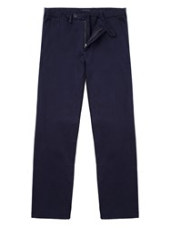 Jaeger Classic Chino Trousers Navy