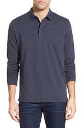 Men's Victorinox Swiss Army Tailored Fit Long Sleeve Zip Polo Online Only