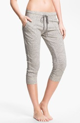Hard Tail 'Vintage Heather' Cargo Capris Vintage Heather Grey