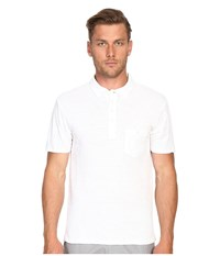 Todd Snyder Weathered Pocket Polo White