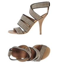Acrobats Of God Sandals Beige