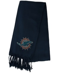 Little Earth Women's Miami Dolphins Pashi Fan Scarf Navy