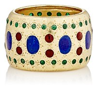 Mahnaz Collection Vintage Women's Enamel Dotted Band No Color