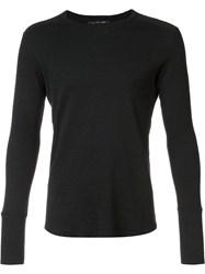 Wings Horns Longsleeved T Shirt Black