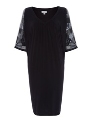 Mary Portas Beaded Angel Dress Black