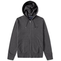Fred Perry Loopback Hooded Sweat Grey