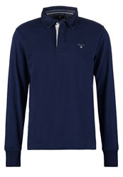 Gant Polo Shirt Shadow Blue Dark Blue