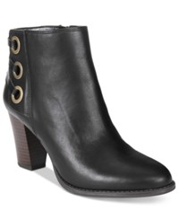 Inc International Concepts Women's Jessa Block Heel Booties Only At Macy's Women's Shoes Black