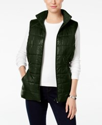 Styleandco. Style Co. Quilted Puffer Vest Only At Macy's Dark Ivy