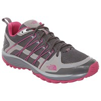 The North Face Litewave Explore Women's Walking Shoes Grey Pink