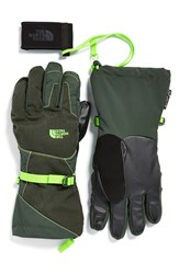 The North Face 'Montana E Tiptm' Tech Gloves Dark Cedar Green