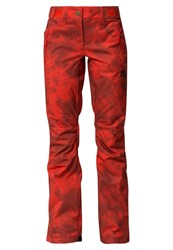 Rip Curl Slinky Gum Waterproof Trousers Molten Lava Red