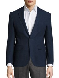 Polo Ralph Lauren Long Sleeve Wool Blazer Dark Navy