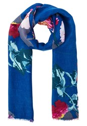 Banana Republic Daisy Scarf Painted Floral Multicoloured