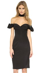 Alexis Eboney Dress Black