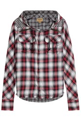 True Religion Printed Cotton Shirt With Hood Gr. S