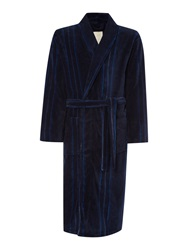 Linea Stripe Robes Navy