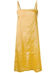 Dosa Tank Dress Yellow And Orange
