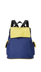 Bag Studio Backpack Navy Yellow