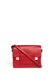 Delvaux Madame Xl Polo Shoulder Bag Red