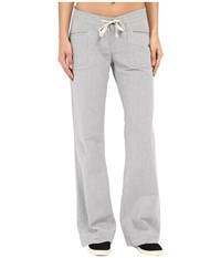 The North Face Wander Free Pants Patriot Blue Stripe Women's Casual Pants Gray