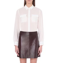 French Connection Pippa Woven Shirt White