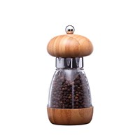 William Bounds Mushroom Pepper Mill Dark Bamboo
