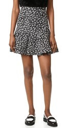 Carven Skirt Black White