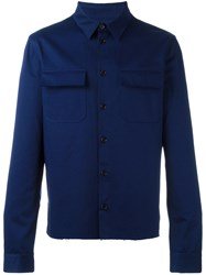 Msgm 'Cahow' Jacket Blue
